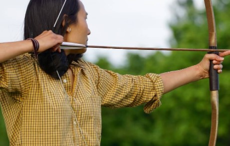 Howto aim a recurve bow